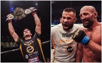 OKTAGON MMA má nového šampióna. Viktor Pešta rozbil nemeckému Terminátorovi nos a doktor súboj zastavil