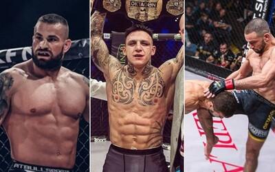 Oktagon, XFN aj Vémola. Najväčšie MMA rivality na slovenskej a českej scéne generujú tonu trash talku, peňazí aj divákov
