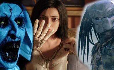 Omamné sci-fi Alita: Battle Angel a očakávaného Predátora uvidíme v kinách neskôr. Polepšil si však horor The Nun