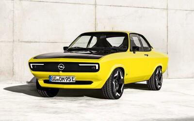 Opel oživil jeden ze svých nejslavnějších modelů. Manta GSe je retro elektromobil s manuálem