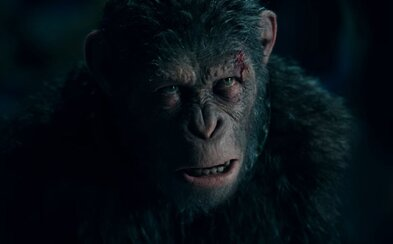 Opice pod vedením Caesara nevzdávajú boj o svoju budúcnosť. Vo veľkolepom traileri čelia vrtuľníkom a ťažkej vojenskej technike