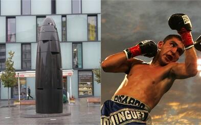 Opilý muž s boxerskou rukavicí kopal v Brně do zastávky. Následně předstíral, že je hluchoněmý