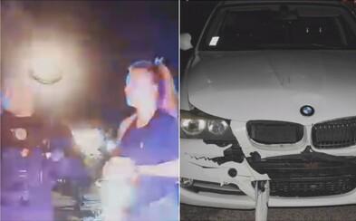 Opitá 21-ročná Trnavčanka kopala do policajtov a pľula na nich. Šoférovala bavoráka s 2 promile, skoro zrazila človeka