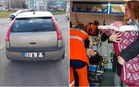 Opitá žena v Bratislave narazila autom do mamičky s kočíkom, v ktorom bolo iba dvojmesačné dieťa