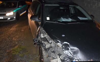 Opitý 15-ročný Popradčan spôsobil nočnú nehodu. Šoféroval s 1,7 promile, havaroval a z miesta nehody pred policajtmi ušiel