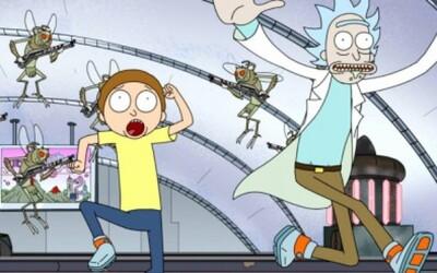 Oplzlý alkoholik Rick s Mortym vás prevedú humornými situáciami v novom animovanom seriáli