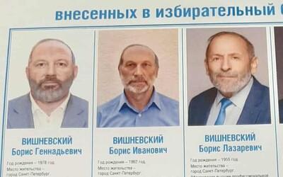 Opozičnému politikovi v Rusku ukradli volební súperi meno aj tvár. Traja identickí Borisovia podľa neho majú zmiasť voličov