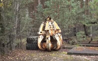 Opustená vidlica v Černobyle je veľkým nebezpečenstvom. Pozostatok katastrofy likvidátori ukryli v lese, aby ho nikto nenašiel
