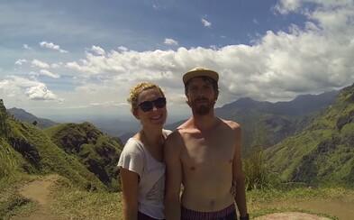 Opustené pláže a ideálne podmienky pre surfistov na Srí Lanke si vyskúšal aj slovenský párik