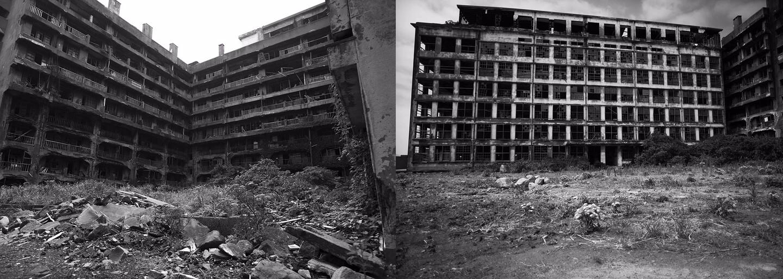 Opuštěný ostrov Hashima, kde se procházel i James Bond, na tajuplných fotografiích z pohledu 13letého chlapce, který ho před lety opustil