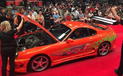 Oranžová Toyota Supra z Rýchlo a zbesilo sa predala, majiteľ za ňu zaplatil 166-tisíc eur!
