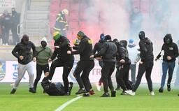 Organizátori zápasu Trnava verzus Slovan nezvládli situáciu, tvrdí polícia