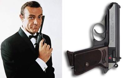 Originální zbraň Seana Conneryho z prvního filmu Jamese Bonda je na prodej. Může stát až 200 000 dolarů