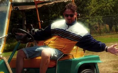 Orion poprvé za volantem. V Maniakově klipu řídí golfový vozík a s MC Geyem a Restem žije Luxus a špínu