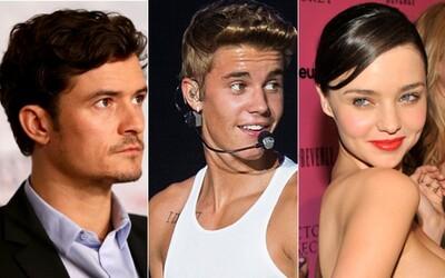Orlando Bloom sa pokúsil vraziť Bieberovi a za všetkým je vraj žena!
