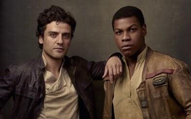 Oscar Isaac a John Boyega doufali, že Finn a Poe budou ve Star Wars homosexuálním párem. Splnil jim režisér jejich přání?