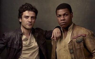 Oscar Isaac a John Boyega dúfali, že Finn a Poe budú v Star Wars homosexuálnym párom. Splnil im režisér ich želanie?