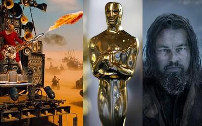 Oscarové nominácie zverejnené! Nechýba Mad Max či Star Wars, ale vyhrať môže aj Stallone