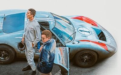 Oscarové výkony Christiana Balea a Matta Damona tě posadí na zadek v adrenalinových závodech Ford vs. Ferrari (Recenze)
