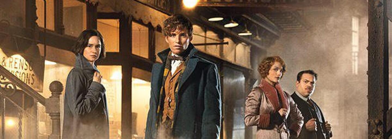 Oscarový Eddie Redmayne nahrádza Harryho Pottera v prvých záberoch pre Fantastic Beasts