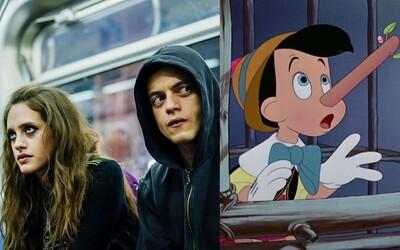 Oscarový Guillermo del Toro natočí pre Netflix animovaného Pinocchia a posledná séria Mr. Robot bude mať 12 epizód