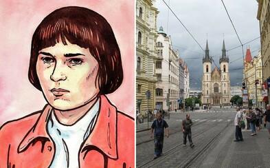 Osem mŕtvych, dvanásť zranených - krvavá bilancia pražského útoku z roku 1973. Útočníčku Olgu Hepnarovú bez milosti popravili