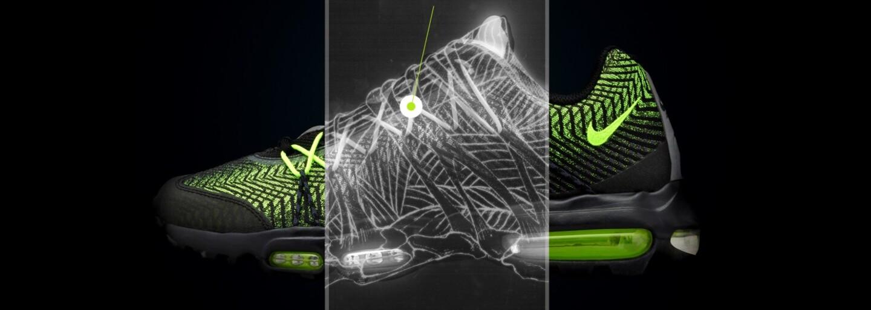 Oslav 20. výročí Nike Air Max 95 s dvojicí Ultra Jacquard provedení