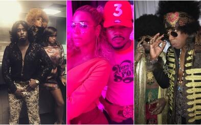 Oslava 35. narodenín Beyoncé sa niesla v retro štýle americkej show Soul Train. Bola to podarená párty