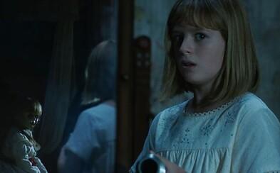 Ospevovaná Annabelle 2 od režiséra Lights Out vyzerá ako teror z vašich najhorších nočných môr. Presvdečiť vás o tom môžu desivé ukážky