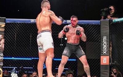 Ostré bitky a hviezdy slovenskej a českej MMA scény. Oktagon 16 priniesol ďalší divácky zážitok