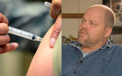 Otec, jehož děti způsobily epidemii spalniček, je nedal očkovat, protože se bál autismu. Dnes svého rozhodnutí lituje