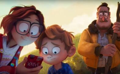 Otec si chce nájsť cestu k deťom závislým na mobiloch. Skvelo vyzerajúci animák od tvorcov Spider-Verse sľubuje veľa prekvapení