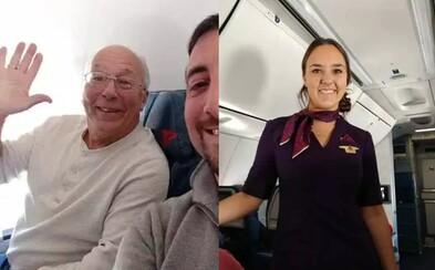 Otec si koupil 6 letenek na všechny lety své dcery, aby s ní mohl strávit Vánoce