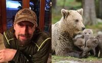 Otec so synom bezcitne zabili spiacu medvedicu a potom dorazili aj jej mláďatá. Vo väzení skončia na smiešnych pár mesiacov