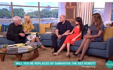 Otec svoju sexuálnu bábiku zobral do britského telerána. Majú ju radi aj jeho deti a zlepšila mu vzťah s manželkou