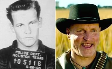 Otec Woodyho Harrelsona bol doživotne odsúdeným vrahom. Údajne si ho mala najímať aj mafia