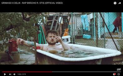 Otecko a Delik posielajú výborný uletený videoklip, v ktorom miešajú pivo a tuzemák. Toto je rap, brácho!