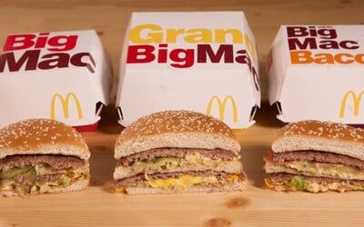 Otestovali sme 2 nové Big Macy z McDonald's. Čo prináša lákavá slaninová a zväčšená ponuka?