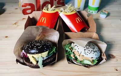 Otestovali sme ázijskú ponuku McDonald's. Čo sa skrýva za burgrami Kreveta-shi a Krava-shi?