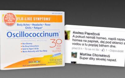 Otřesné šarlatánské praktiky: Balada o homeopatii