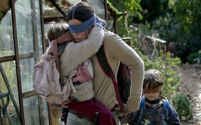 Otvorené oči znamenajú smrť. Sandra Bullock sa v lákavom thrilleri poslepiačky vydáva na nebezpečnú cestu
