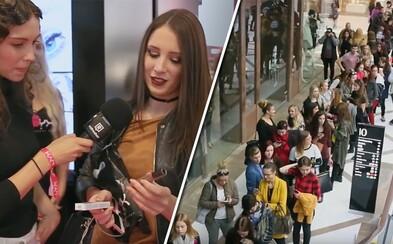 Otvorenie nového butiku s kozmetikou spôsobilo v bratislavskom Auparku ošiaľ. V rade čakali stovky ľudí (Video)