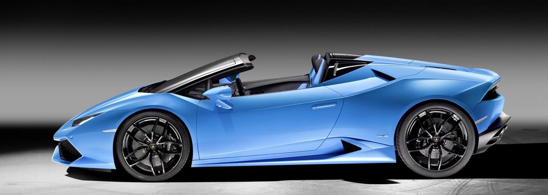 Otvorený Huracán Spyder odhalený! Spoznávame najpôvabnejší superšport bez strechy?