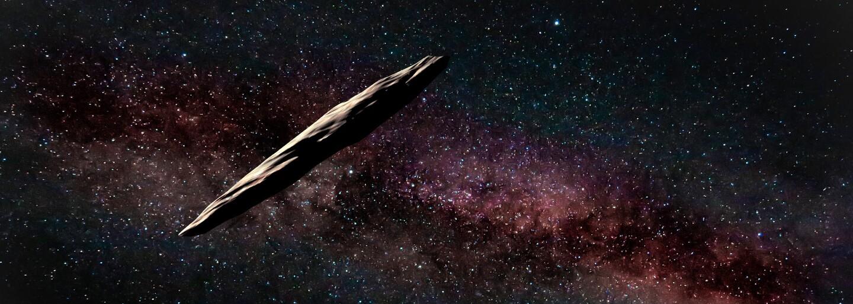 Oumuamua, asteroid s neobyčajným tvarom i pôvodom, vraj nie je výtvorom žiadnej cudzej civilizácie