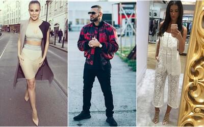 Outfity českých a slovenských celebrit potvrzují, že situace s módou u nás postupuje