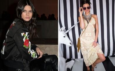 Outfity Kendall Jenner aneb poslední trendy přímo z centra módního dění
