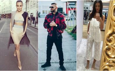 Outfity slovenských a českých celebrít potvrdzujú, že situácia s módou u nás napreduje