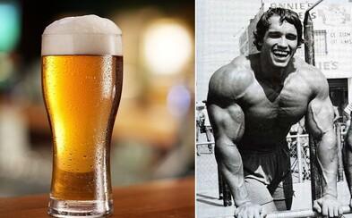 Ovplyvní pivo po tréningu rast svalovej hmoty?