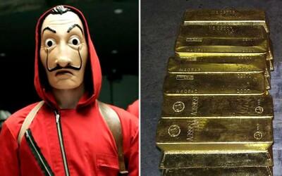 Ozbrojenci přepadli důlní transport a ukradli hromadu zlatých cihliček. Uprchli ve vlastním letadle