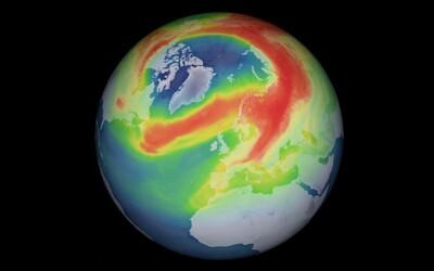 Ozónová diera nad Arktídou, ktorá bola túto jar vôbec najväčšou v histórii, sa uzavrela